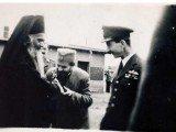 Њ.В.Краљ Петар II, Св.Николај Жички и логорски свештеник Јовановић