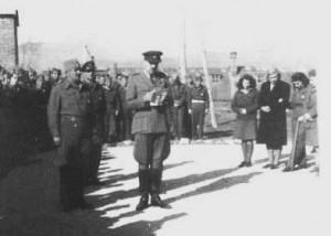 Naredba br.45 za 1.novembar 1945.Đeneral Miodrag Damjanović čita naredbu