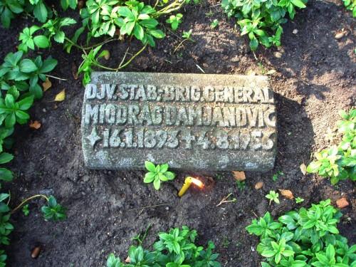 Grob đenerala Miodraga M. Damjanović u Osnabriku Nemacka