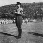Govor generala Damjanovica pred strojem u logoru Eboli 1946.