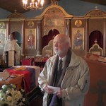 Artur Herman govori na opelu