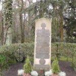Споменик на Почасном војничком гробљу Сеенефридхоф