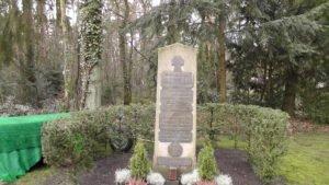 Spomenik na Počasnom vojničkom groblju Seenefriedhof
